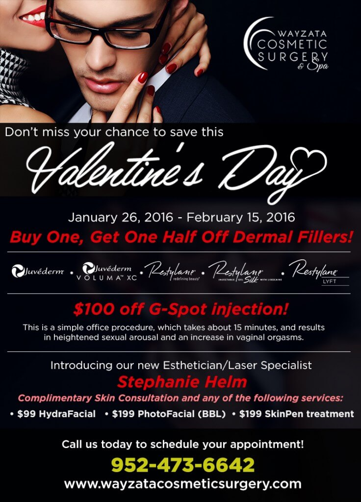 Valentine's Day Specials 2016