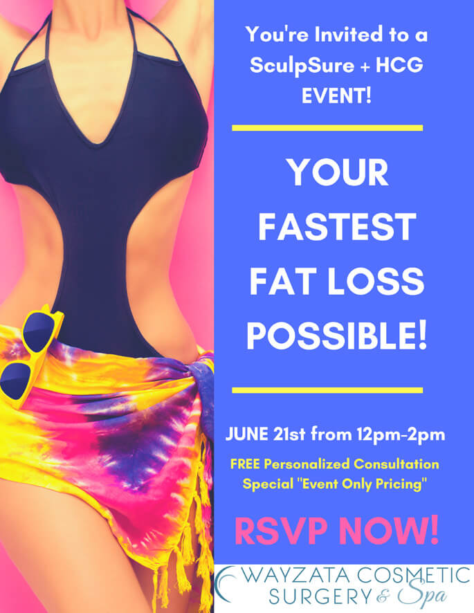 SculpSure + HCG Event!
