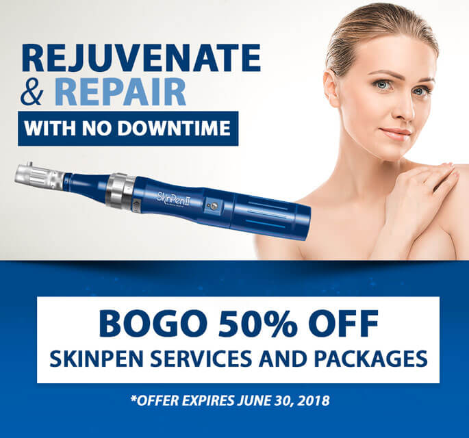 BOGO 50% OFF SkinPen Services & Packages!