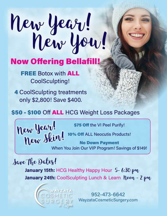 New year, new YOU! January specials!