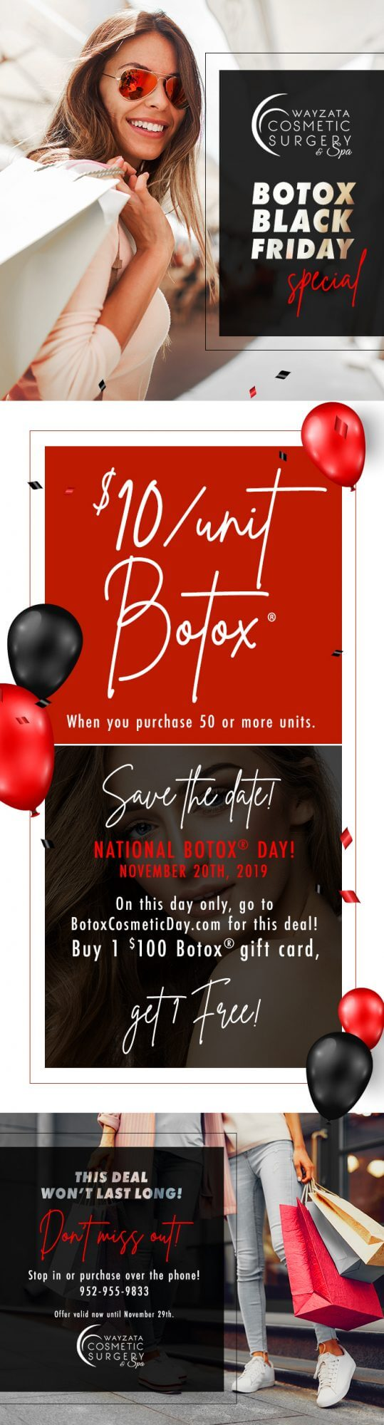 , Botox Black Friday Sale!